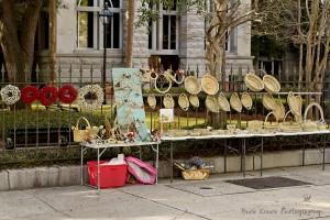 Sweetgrass baskets 5 wm