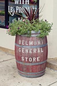 Belmont General Store Barrel